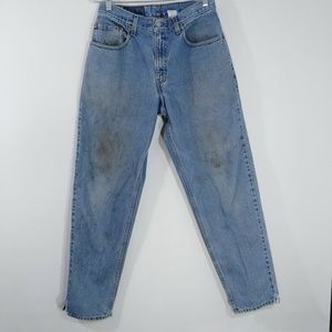 Mens Levis 560 Loose Fit Tapered Leg Blue Jeans
